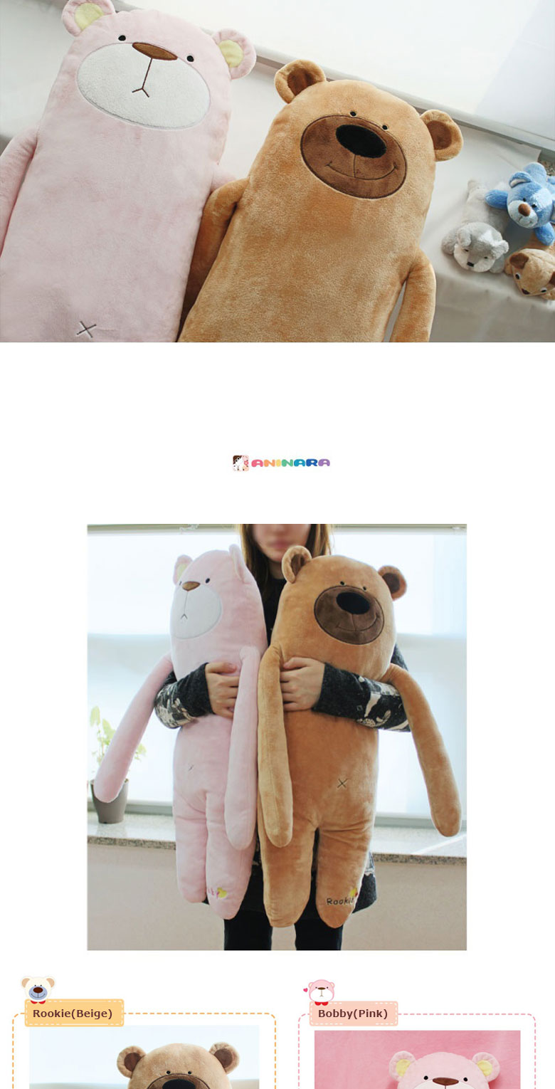 [ANINARA] Soft Cute Animal Character Comfort Body Cushion Pillow (9types) eBay